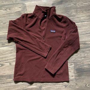 PATAGONIA fleece zip sweater M